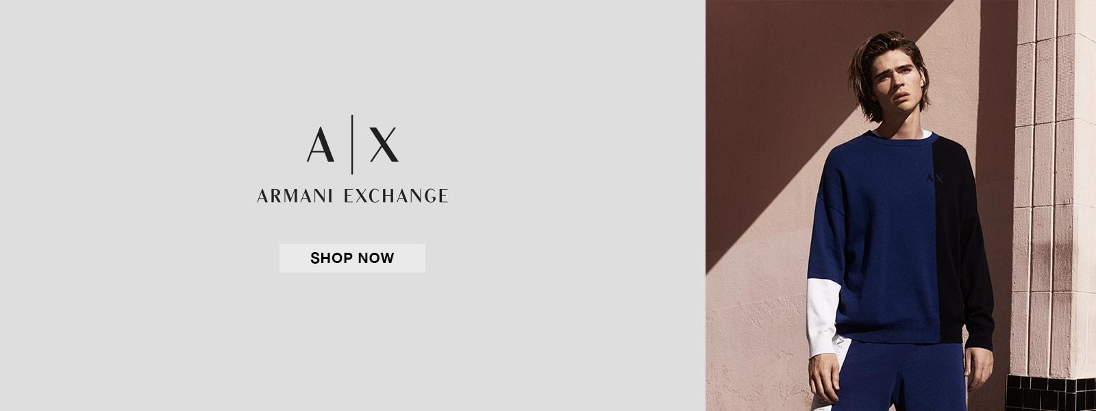 Armani Exchange - Shop Now