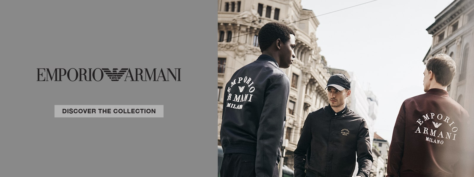 Emporio Armani Autumn Winter 19 collection