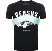 Product Image for Versus Versace Logo T Shirt Black