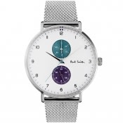 Product Image for Paul Smith Track Watch Silver
