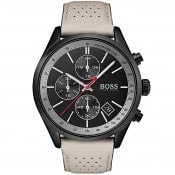 Product Image for BOSS HUGO BOSS 1513562 Grand Prix Watch Grey