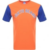 Product Image for Champion X Beams Crew Neck Logo T Shirt Orange