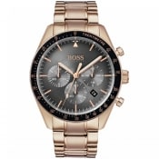 Product Image for BOSS HUGO BOSS Trophy Watch Rose Gold