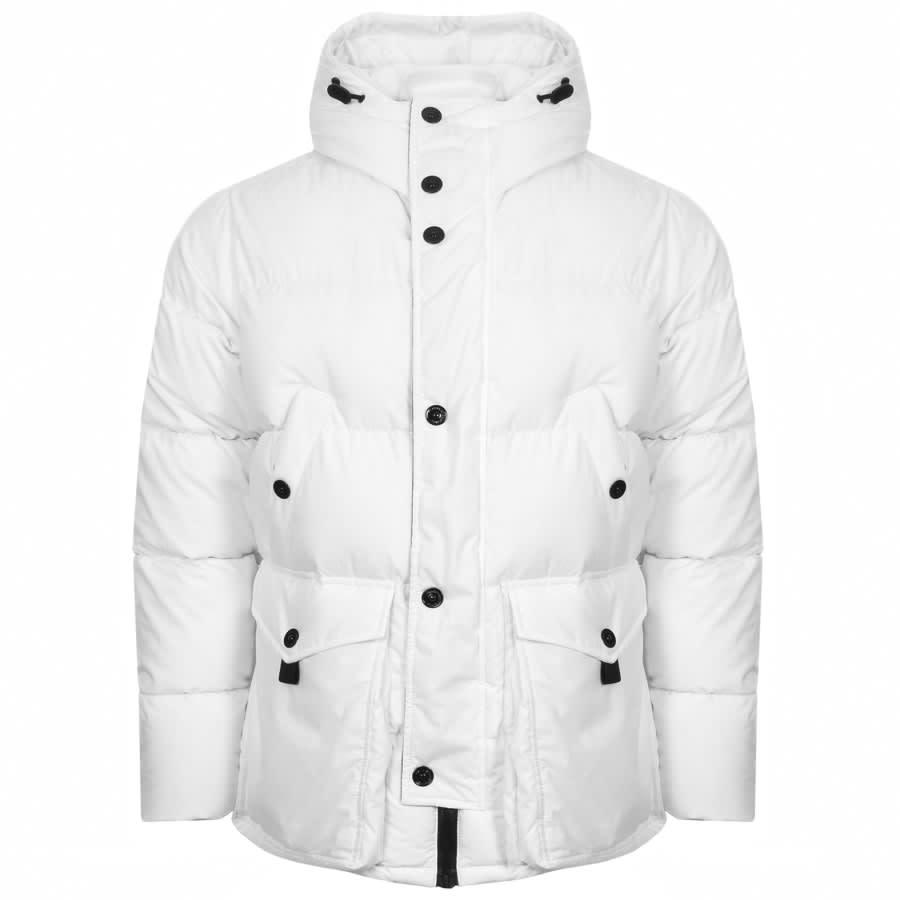 White Parka Jacket
