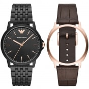 Product Image for Emporio Armani AR80021 Watch Gift Set Black