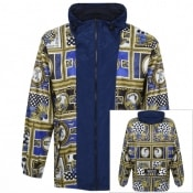Product Image for Versus Versace Hooded Jacket Blue