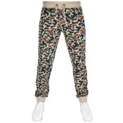 Product Image for Money Camo Jogging Bottoms Beige