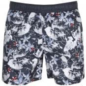 Product Image for Armani Exchange Palm Swim Shorts Navy