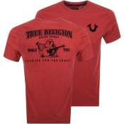 Product Image for True Religion Buddha Logo T Shirt Red