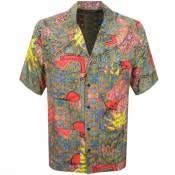 Product Image for Vivienne Westwood Short Sleeved Shirt Blue