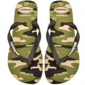 Product Image for Havaianas Top Camu Flip Flops Green