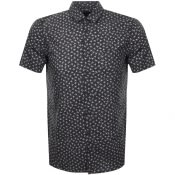 Product Image for BOSS Casual Short Sleeved Magneton Shirt Black