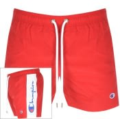 Product Image for Champion Taped Swim Shorts Red