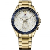Product Image for Tommy Hilfiger Luke Chronograph Watch Gold