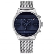 Product Image for Tommy Hilfiger Icon Dual Watch Silver