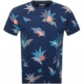 Product Image for Farah Vintage King Print T Shirt Blue