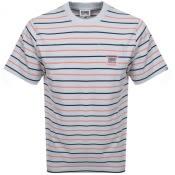 Product Image for Billionaire Boys Club Stripe Pocket T Shirt Grey