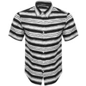 Product Image for Michael Kors Short Sleeved Striped Shirt Black