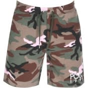 Product Image for Ralph Lauren Camouflage Shorts Green