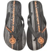 Product Image for Superdry International Logo Flip Flops Black