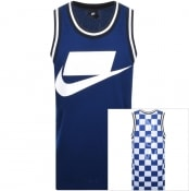 Product Image for Nike Sportswear Logo Vest T Shirt Blue