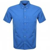 Product Image for HUGO Ekilio Short Sleeve Shirt Blue