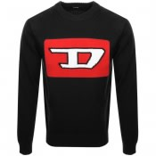 Product Image for Diesel K LogoX Knit Jumper Black