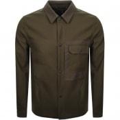Product Image for PS By Paul Smith Overshirt Jacket Khaki