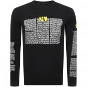 Product Image for Diesel Long Sleeved T Just Logo T Shirt Black