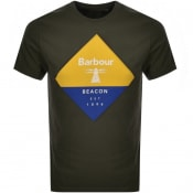 Product Image for Barbour Beacon Diamond T Shirt Green
