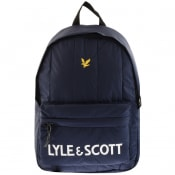 Product Image for Lyle And Scott Core Wadded Backpack Navy