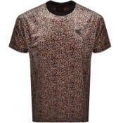 Product Image for Vivienne Westwood Velvet Small Orb T Shirt Black