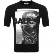 Product Image for BALR Black Label Bandana T Shirt Black