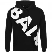Product Image for BALR Tilted Logo Hoodie Black