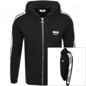 Product Image for BALR Life Of A Balr Tape Full Zip Hoodie Black