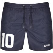 Product Image for BALR 10 Logo Swim Shorts Navy