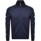 Product Image for Michael Kors Camo Stripe Track Top Navy