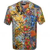 Product Image for Versace Jeans Couture Short Sleeved Shirt Black
