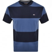 Product Image for Tommy Jeans Stripe T Shirt Blue