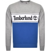 Product Image for Timberland Cut And Sew Logo Sweatshirt Grey