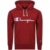 Product Image for Champion Logo Hoodie Red
