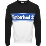 Product Image for Timberland Cut And Sew Logo Sweatshirt Black