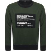 Product Image for Diesel S Bay Sweatshirt Green