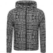 Product Image for Michael Kors Logo Hodded Jacket Black