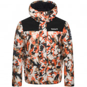 Product Image for Timberland Camo Puffer Jacket Orange