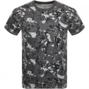 Product Image for Timberland Camo T Shirt Grey
