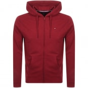 Product Image for Tommy Hilfiger Lounge Zip Hoodie Red