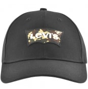 Product Image for Levis Batwing Logo Baseball Cap Black