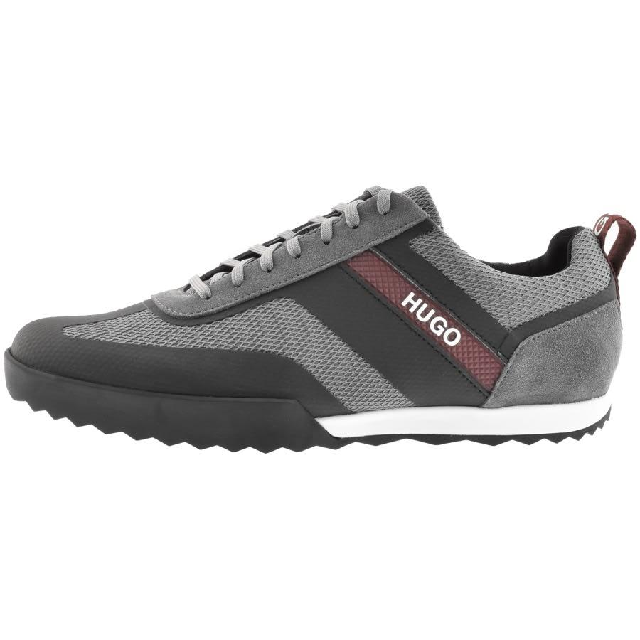 HUGO Matrix Lowp Trainers Grey