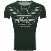 Product Image for Emporio Armani Lounge Crew Neck T Shirt Green